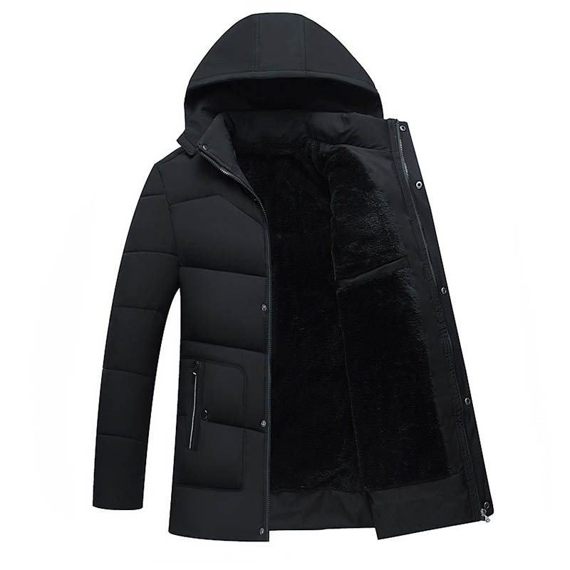 New 2018 Men Jacket Coats Thicken Warm Winter Jackets Casual Men   Parka   Hooded Outwear Cotton-padded Jacket men warm jacket