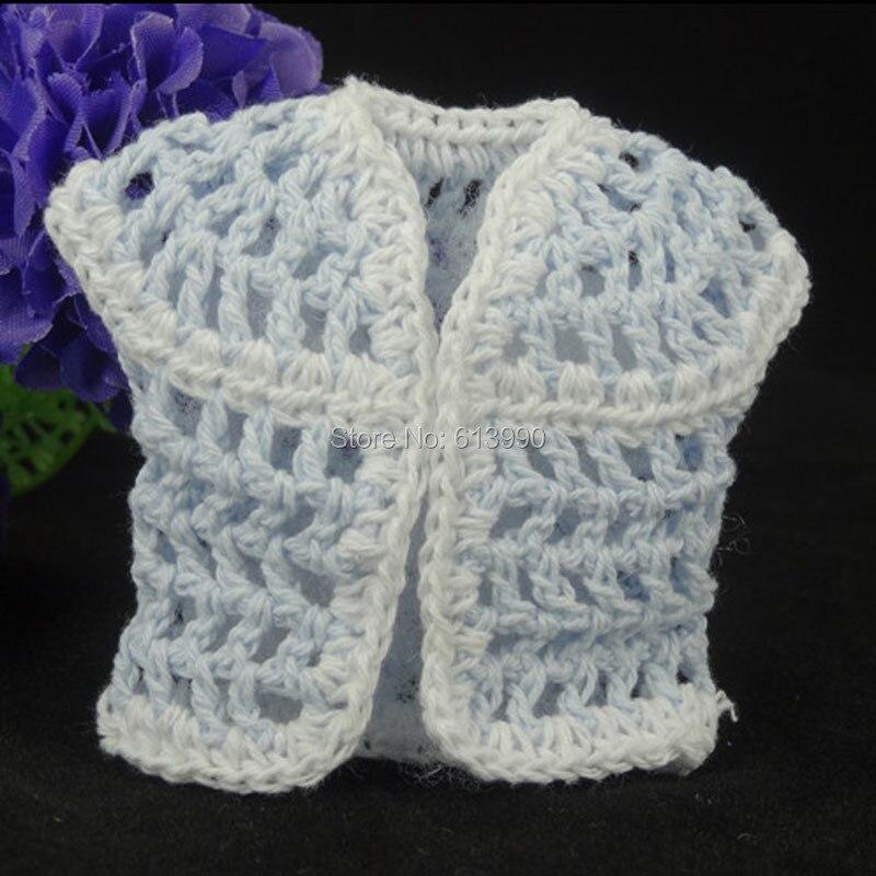 இNueva 12 unids miniatura crochet cardigan ajuste blanco baby ...