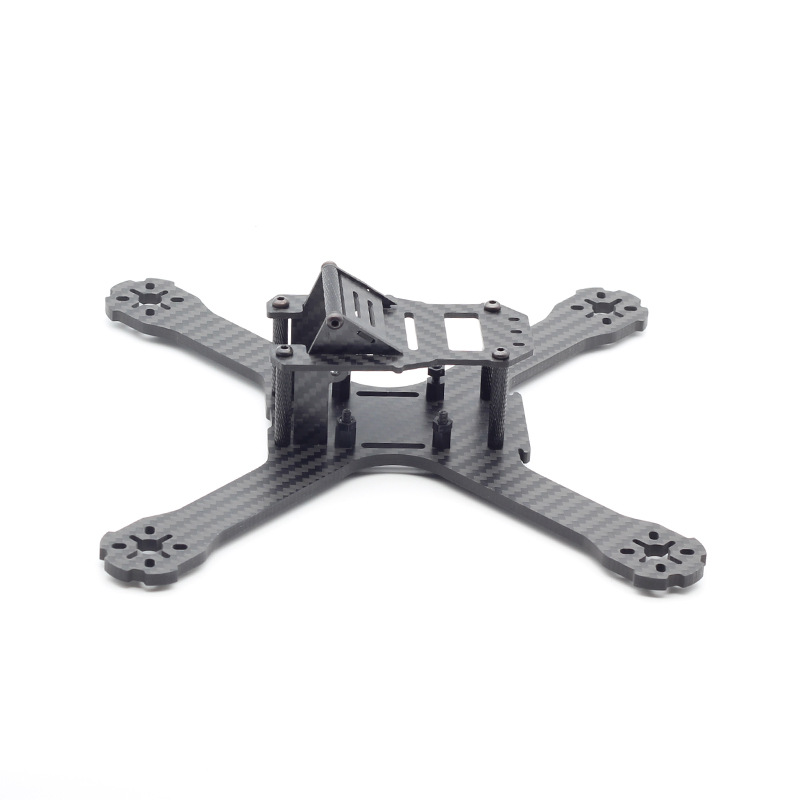 DIY mini drone QAV-X 210mm 210 cross racing quadcopter pure carbon fiber frame kit 4mm arm eft diy 10l agriculture spray quadcopter drone 1300mm annular folding pure carbon fiber frame model a and model b