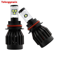 2Pcs 5S All In One 9007 HB5 PX29T Cree T6 Chips Xenon Headlight High Low Beam