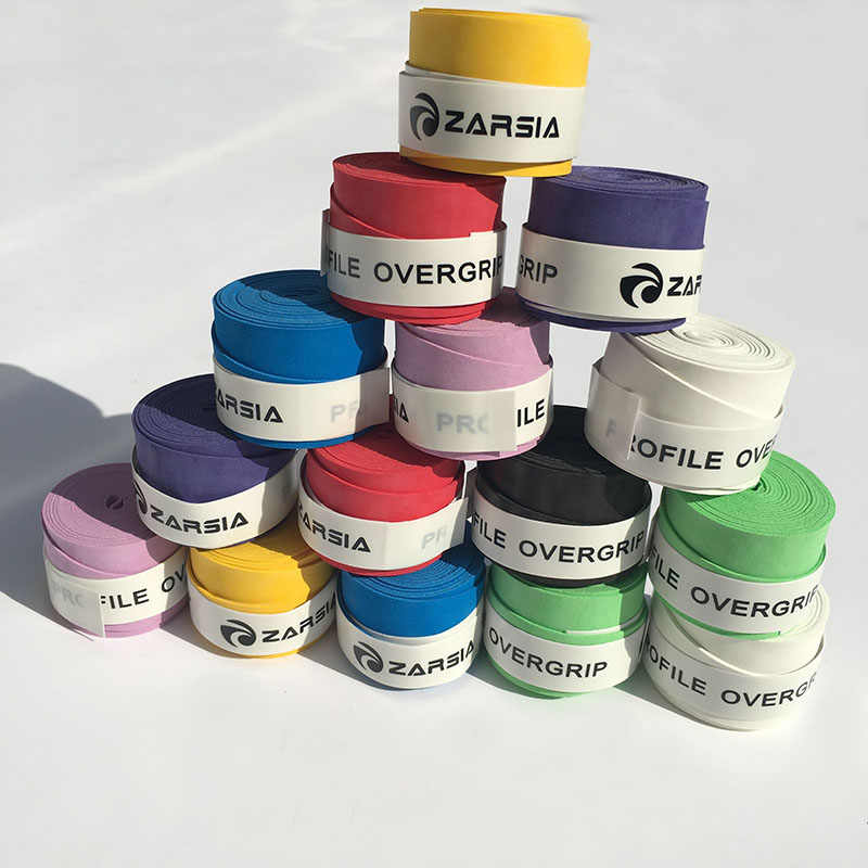 Dry feel Overgrip, 1pc ZARSIA ZR-01 tennis Over Grips ,Suitable for badminton and Tennis Racquet