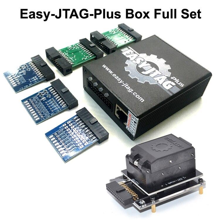 Ensemble complet facile Jtag plus boîte facile-Jtag plus boîte + EMMC prise pour HTC/Huawei/LG/Motorola/Samsung/SONY/ZTE