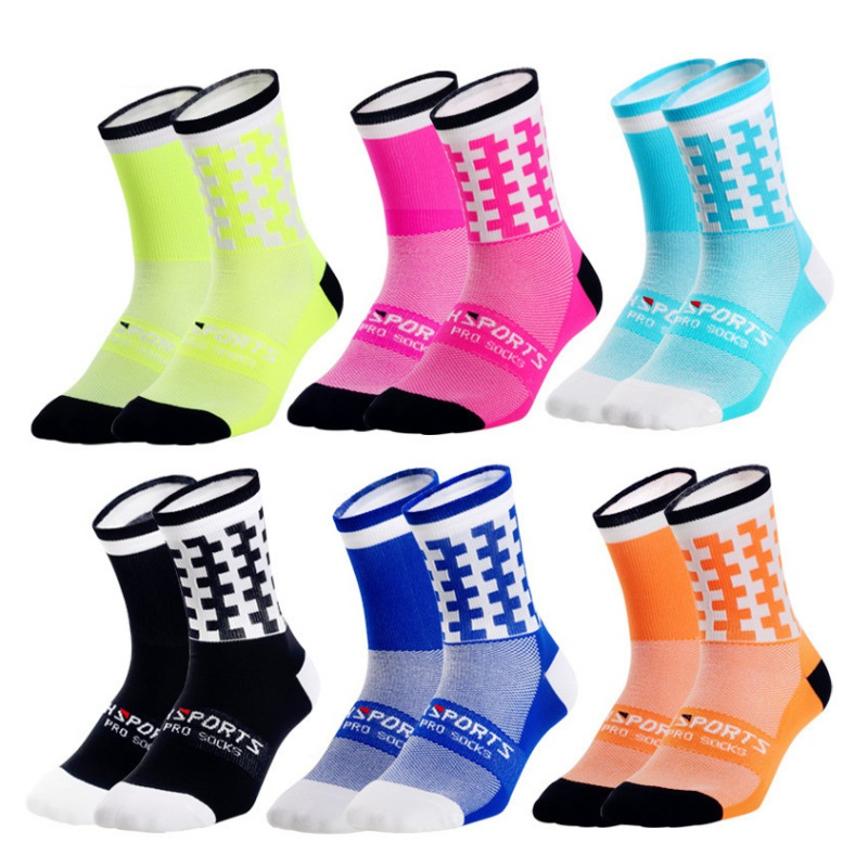 running  cycling yoga sock sports Bicycle riding socks outdoor if you can read this sports mountaineering letters socks
