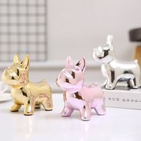Ceramic Pot Scandinavian Style Puppies Home Savings Bank Desktop Furnishings Creative Ceramics Home Gift