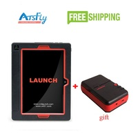 Launch X431 V Plus Wifi Bluetooth Tablet Full System Diagnostic Scanner X431 V+ MINI WiFi Printer For Gift