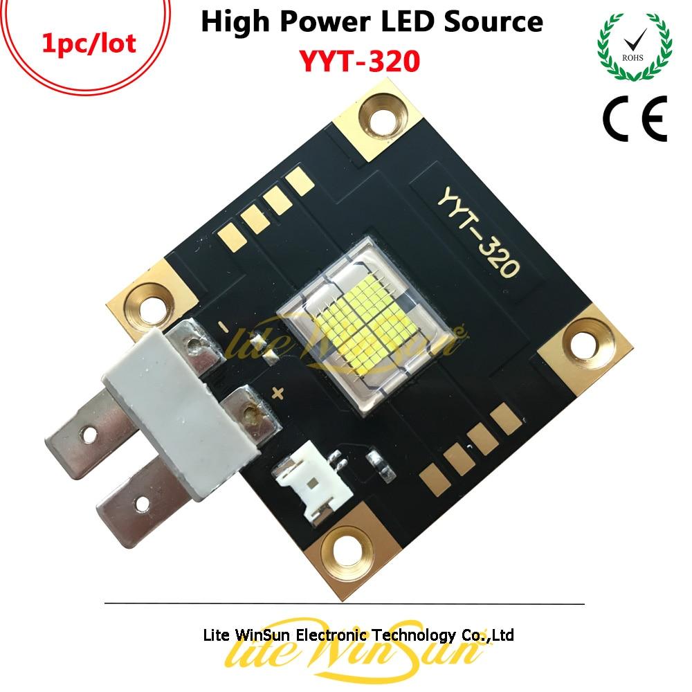Fuente de luz LED Litewinsune YYT-320 de alta potencia para foco de seguimiento 440W linterna de entretenimiento Tuya ZigBee, dispositivo inteligente para hogar con entrada, dispositivo compatible con aplicación add, Control de luz inteligente ZigBee 3,0, mando a distancia inalámbrico
