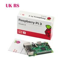 New Original Made UK Raspberry Pi 3 Model B 1GB RAM Quad Core 1.2GHz 64bit CPU WiFi&Bluetooth New Version Ra pi 3 Free Shipping