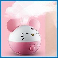 Free Shipping Home Or Office Ultrasonic Air Humidifier Umidificador De Ar Aroma Diffuser Umidificador Essential Oil