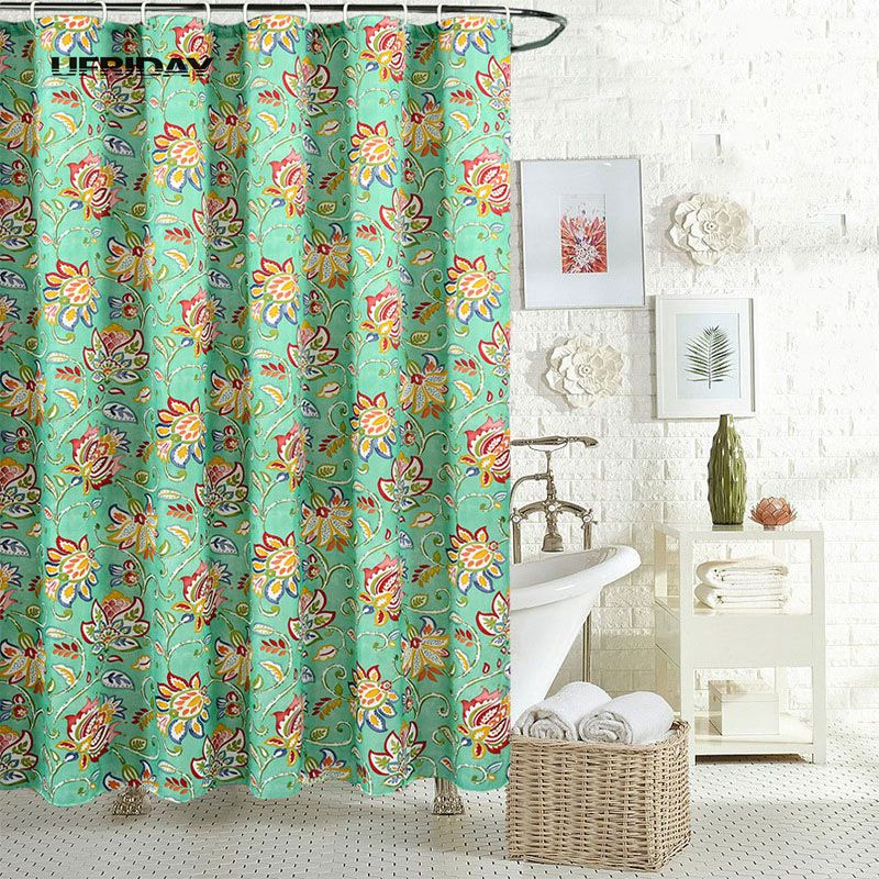 vintage shower curtains ufriday retro bathroom shower curtains fabric waterproof 10651