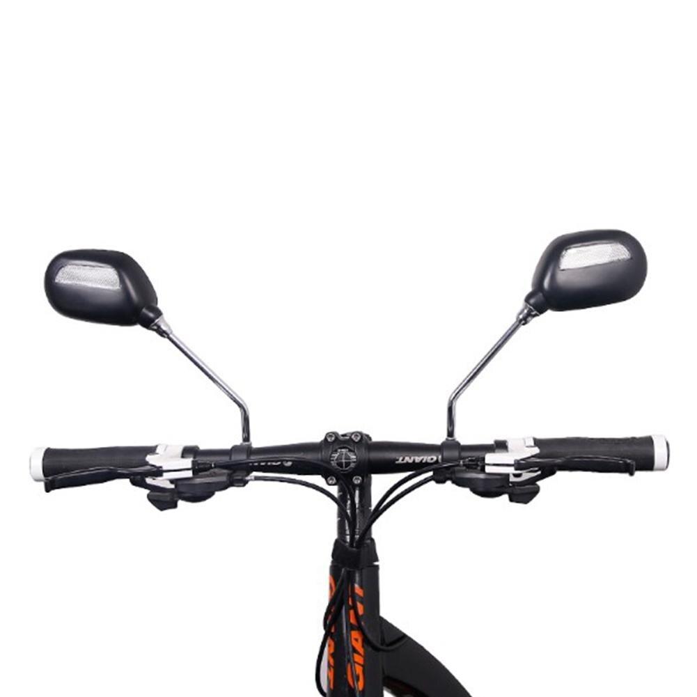 LumiParty Fahrrad Rückspiegel Glas Breite Palette Winkeleinstellung Links/Rechts twoRear Bike Spiegel Anblick Reflektor Radfahren Bike
