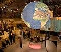 2016 Новый гигант надувной глобус земли, надувной шар земли со светодиодом для украшения