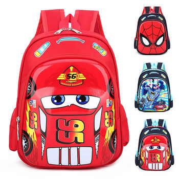 Disney car Kid Cartoon McQueen bag for School children kindergarten backpack boy girl handbag book bag - Category 🛒 Toys & Hobbies