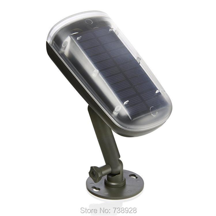 3W LED Solar Lamp Outdoor PIR Motion Sensor Solar Lights Waterproof Garden Emergency Security Spotlight Wall Mount Night Lights 10