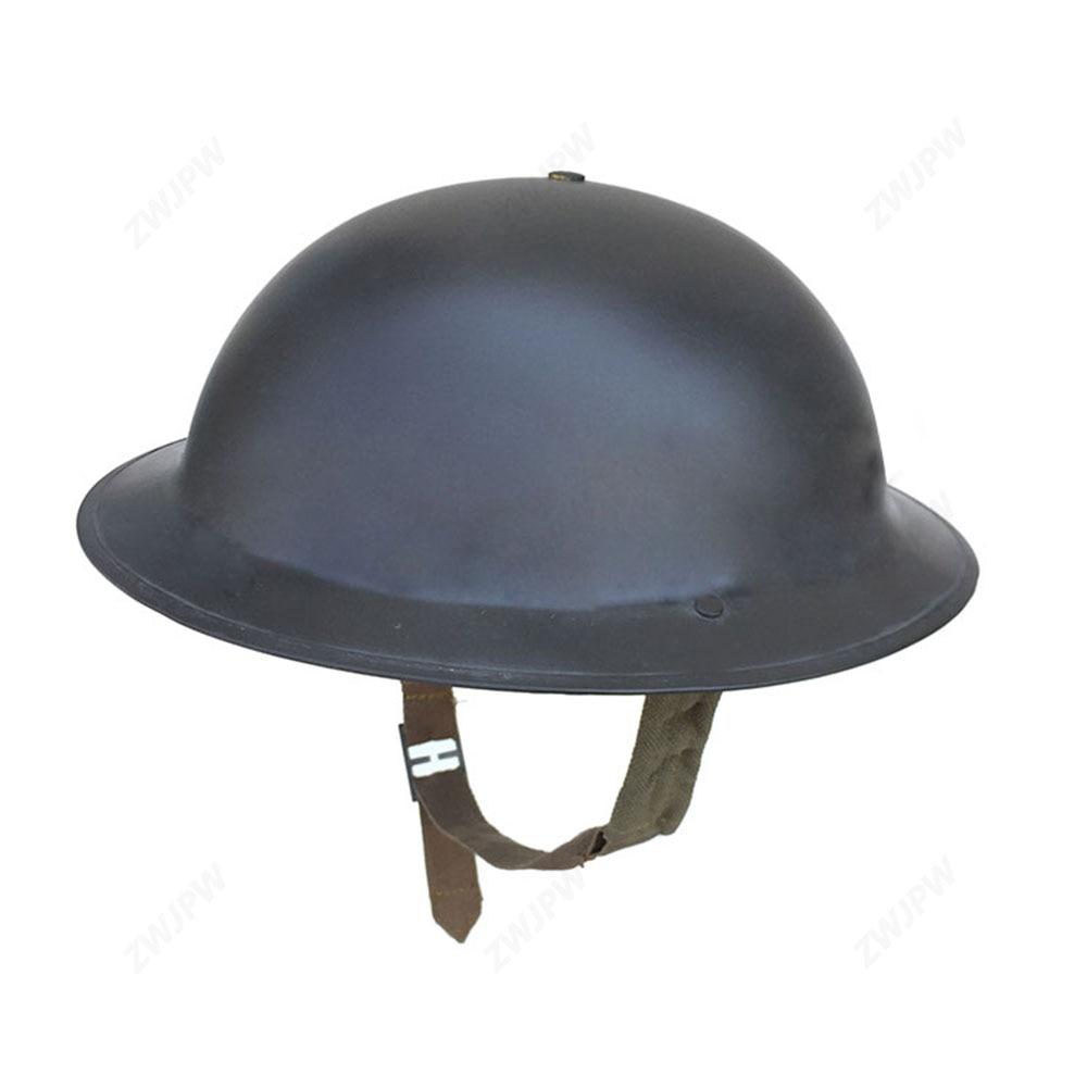 WWII WW2 UK British Army Helmet MK2 British Military Helmet Set UK/407101 ww2 uk army denisonp37 jacket british woolen outdoor clothes