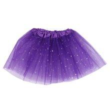 f44b33388a 2016 New Baby Girls Gold Stars Polka Dot Tutu Skirt Ballet Dance Tutu  Pettiskirt(China
