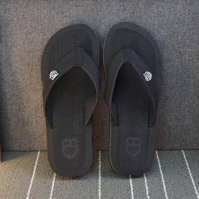 ; летние пляжные шлепанцы; мужские вьетнамки высокого качества; пляжные сандалии; zapatos hombre; Повседневная обувь; ; WS321 - Цвет: Black