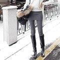 Vendendo Hot New Falso de Duas Peças Pacote Saia Das Mulheres Estiramento Skinny Leggings ladies Footless Mistura Saia de Algodão Stretch Calças