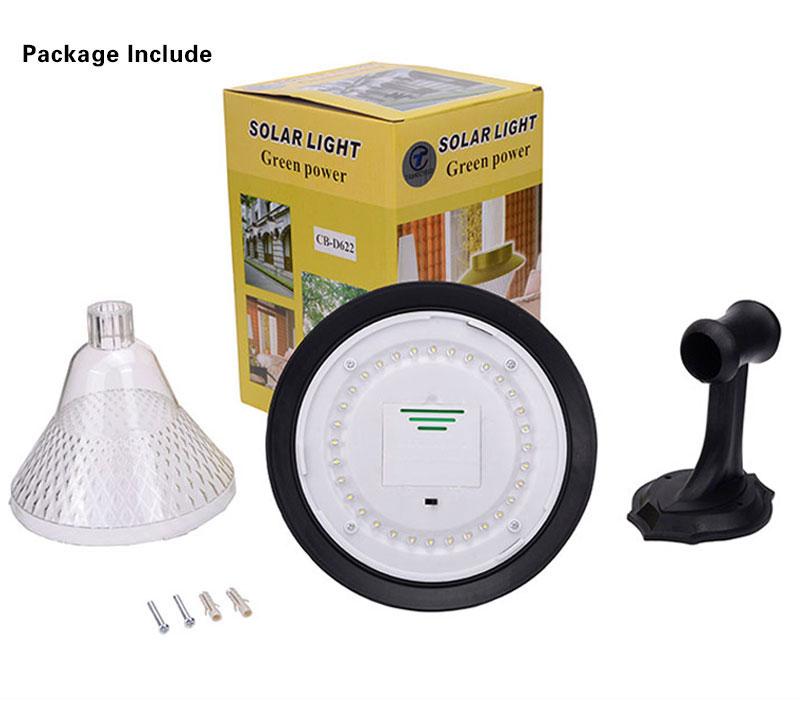 sensor lâmpada de parede solar luzes de