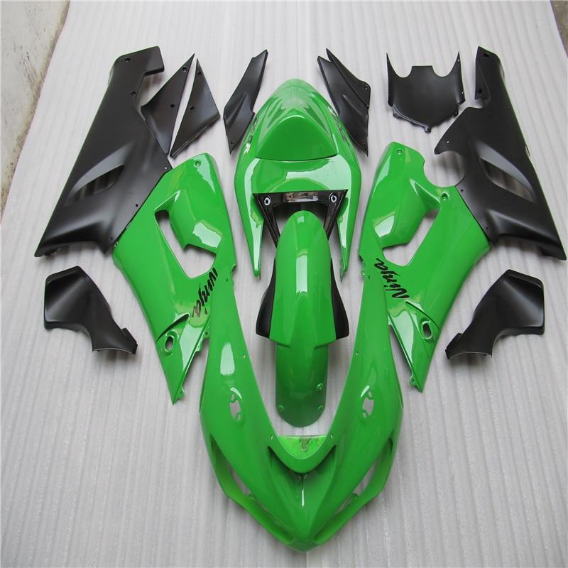для литья под давлением обтекатели комплект для Kawasaki Ninja Zx6r