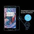 Premium 0.20mm 9 h vidrio templado film protector de pantalla para oneplus 3 tres 1 + 1 Uno Más Dos 2 X A Prueba de Explosiones Película Protectora