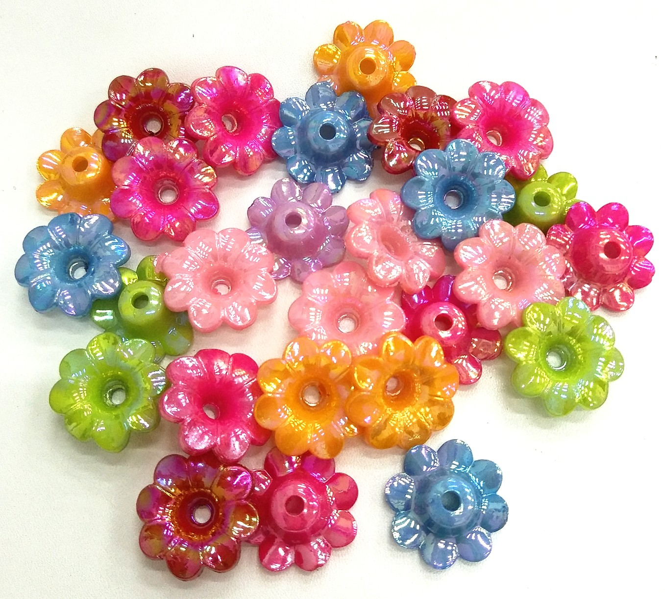 20*20mm 50pcs/lot  Mixed colors Flowers Plastic Spacer Beads Sewing Buttons DIY Handmade Jeweley Making Charms Decorations  eva 1 lot 2 pcs hama fuse perler beads 2 6mm big square pegboards connecting pegoard mini hama beads jigsaw puzzle handmade diy