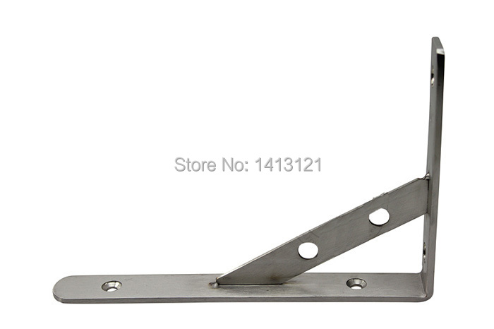 free shipping 12 inch stainless steel bracket household hardware wall bracket shelf support bracket Home improvement item supply free shipping 200mm stainless steel bracket household hardware wall bracket shelf support bracket furniture part item supply