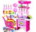 Child toy girls kitchen toys fogao de brinquedo set cocinitas de juguetes de madera juguetes de cocina brinquedo menina cozinha