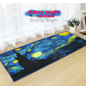 Introduction-Mat Tapestry Bedroom Hallway The Door Gogh Van Bedside Bathroom-Anti-Skid