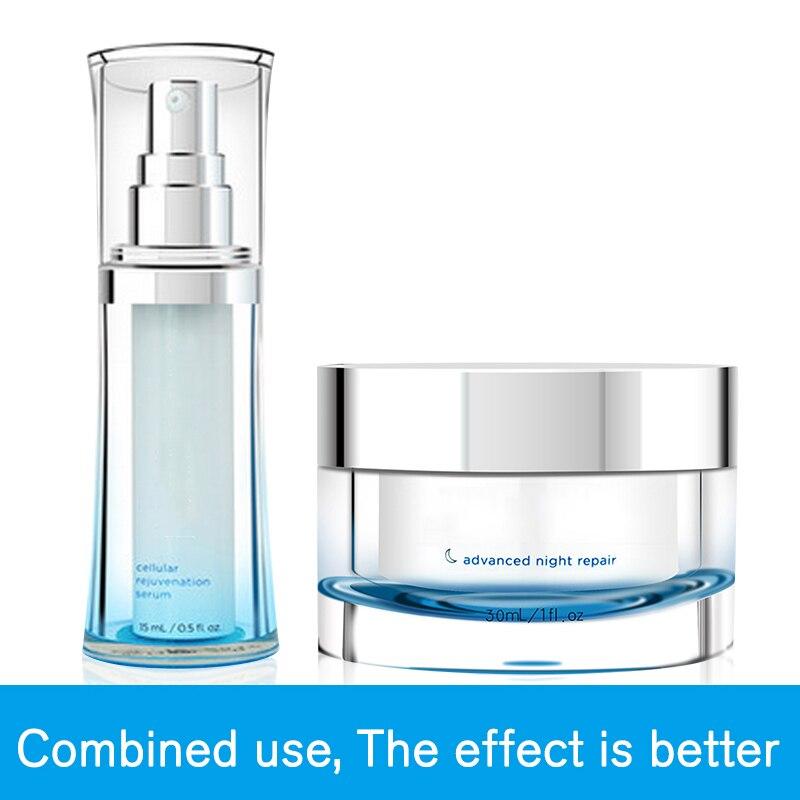 D'origine Luminesce Visage Sérum Essence Ensemble Advanced Night Repair Crème de nuit blanchiment anti-vieillissement reconstruire la vitalité de la peau