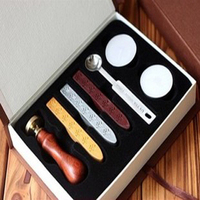 Wax Stamp Letter Stamp Spoon Sealing Wax Pewits Set Gift