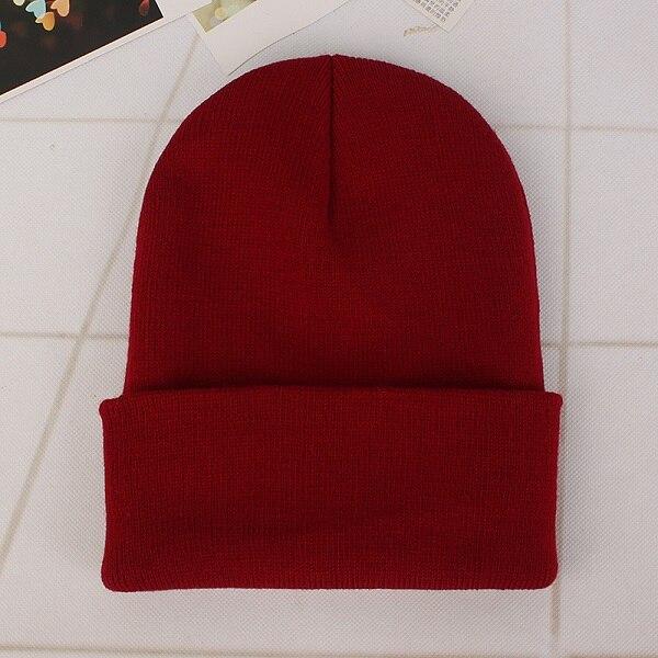 Wine Red Cap