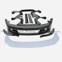 Car Accessories FRP Fiber Glass RB Style Full Wide Body Kit Fiberglass Wider Racing Bodykit Trim For Honda EG Civic Coupe 2Dr