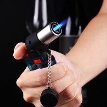 Mini Butane Jet Torch Cigarette Windproof Lighter Random Color Plastic Fire Ignition Burner NO GAS Dropshipping X