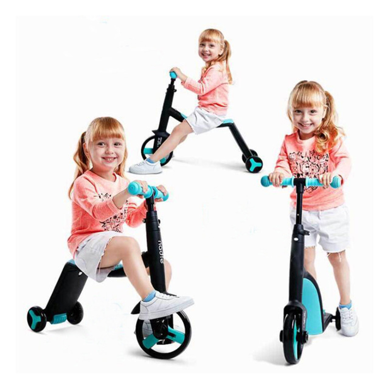 Scooter children can sit 2-3-6 years old child three rounds baby slide free shipping children s scooter user age 2 5 years old 3 wheels blue pink
