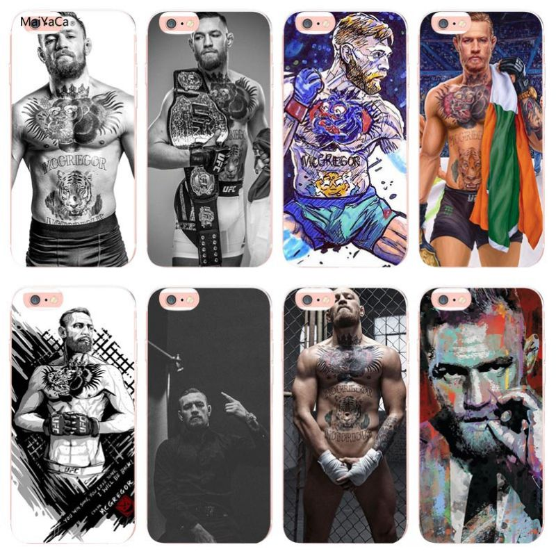 Maiyaca Conor Mcgregor The King Novelty Fundas Phone Case Cover For Apple Iphone 8 7 6 6s Plus X Xs Max 5 5s Se Xr Cellphones Cellphones & Telecommunications Half-wrapped Case