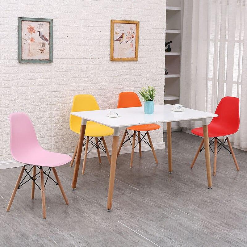 Минималистичный современный стул для отдыха, черный стул для гостиной, домашняя Обеденная Мебель для ресторана, скандинавский диван, спинка, оттоманская