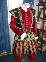 Queen Elizabeth Tudor Period king henry lord tudor Men Royal Court Cosplay Costume outfit custom made