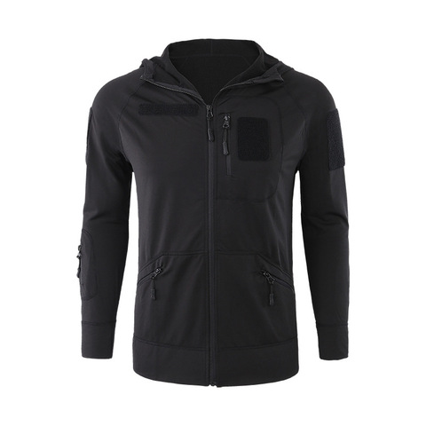 ESDY Men Hiking Hoodies Zip Up Hooded Hiking Jackets Thermal Fleece Tactical Hiking Camping Jackets Outdoor Sports Wear Hoodies Karachi