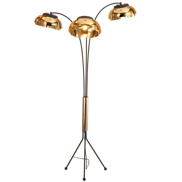 Neue Ankunft Kreative Einfache Stehleuchte Moderne 3 Arm Stehlampe Schwarz  Gold Wohnzimmer Schlafzimmer Kunst Dekoration Beleuchtung