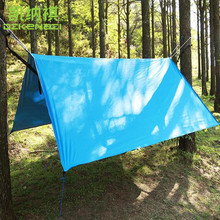 300 x 300 CM/PCS Outdoor Ultralight Sun Shelter Anti UV 210T Polyester Silver coated Waterproof Sun Shade Sail Awning