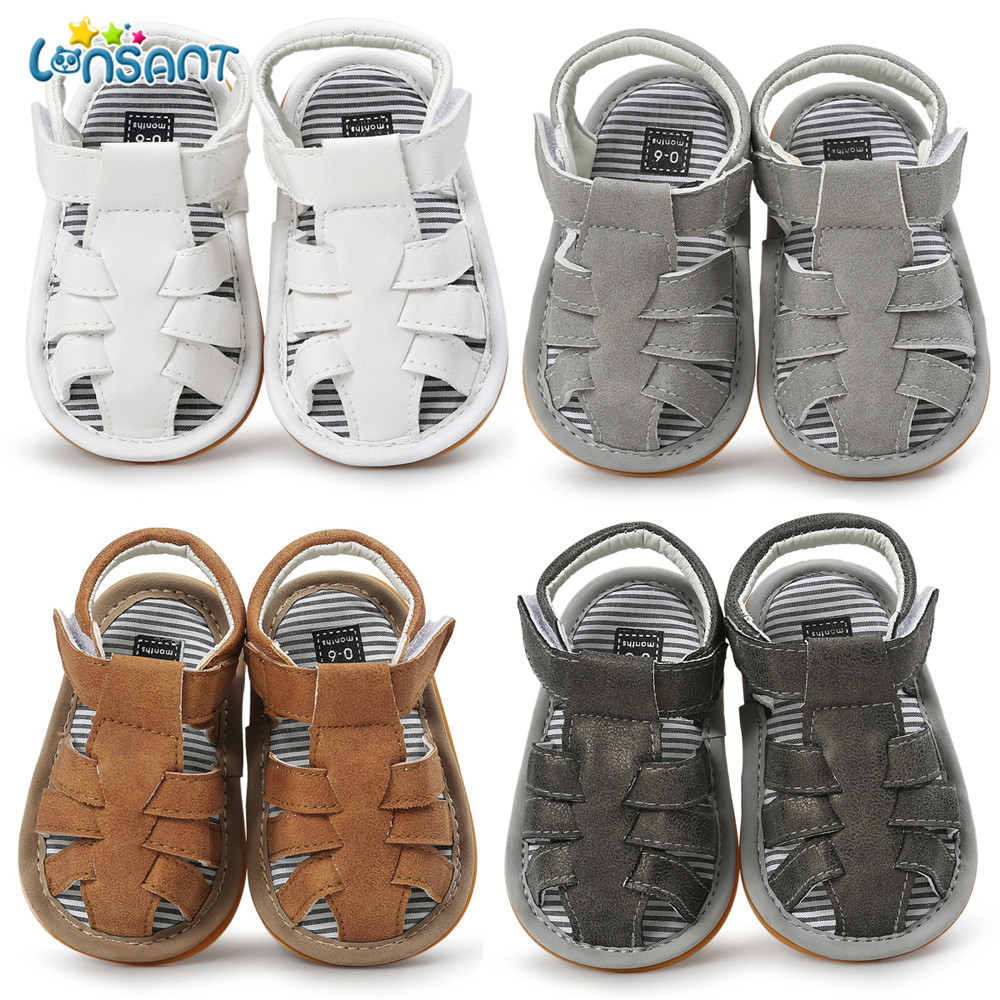 a17c382c9 Detail Feedback Questions about LONSANT 2018 Summer Baby Girl Boy Casual  Sandals Newborn Infant Outdoor Anti slip Soft Sole Toddler Fashion  Comfortable ...
