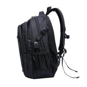 Image 3 - の 15.6 17 インチのラップトップバッグ子供のバックパック通学少年 cartable ecole 子供バックパック黒ナイロンバックパック