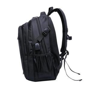 Image 3 - 소년을위한 학교 가방 15.6 17 인치 노트북 가방 키즈 백 팩 schoolbag 소년 cartable ecole 어린이 배낭 블랙 나일론 배낭