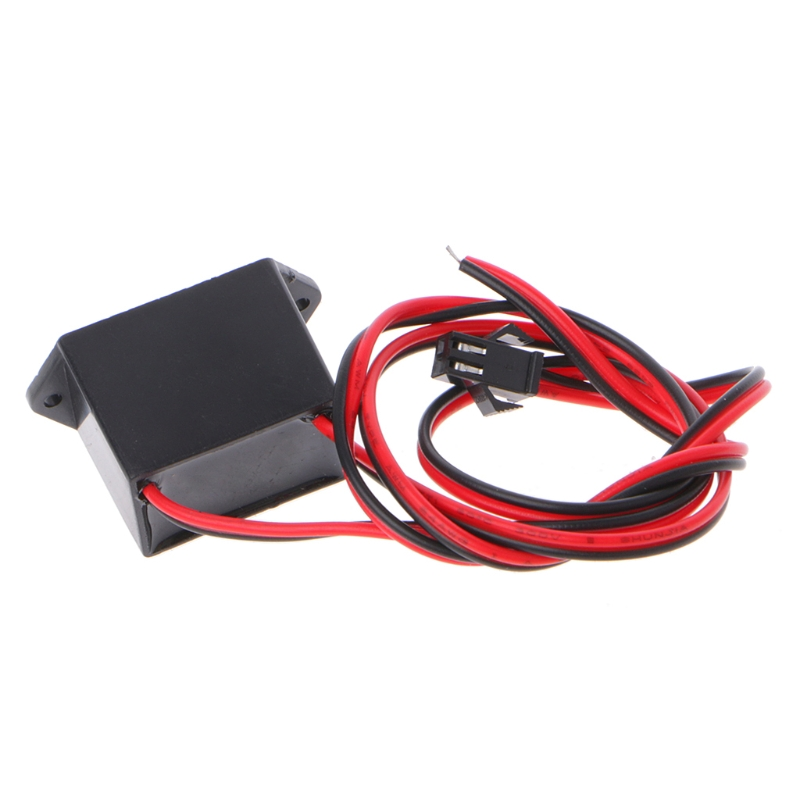 Mini DC 12V powered controller 1-5M EL Wire Cable Flexible Neon Glow Strip Light Power Driver Inverter