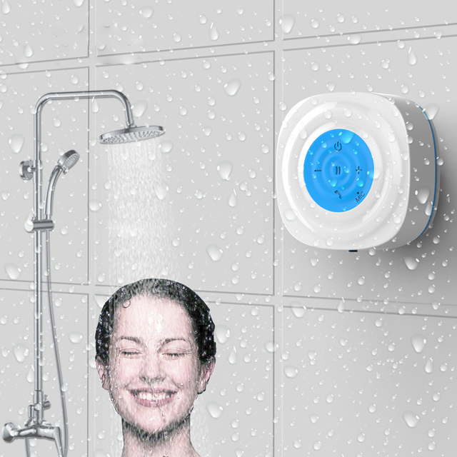 Delicieux Bluetooth Speaker Bathroom Waterproof Bluetooth Stereo Mini Shower  Amplifier Subwoofer Speakers