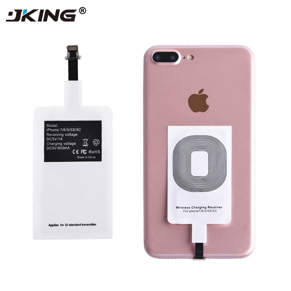 jking qi wireless charger receiver module adapter for. Black Bedroom Furniture Sets. Home Design Ideas