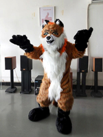 Fox Dog Fursuit Mascot Costumes Christmas Birthday Party Suit Fancy Dress Carnival Outfit Adult Size