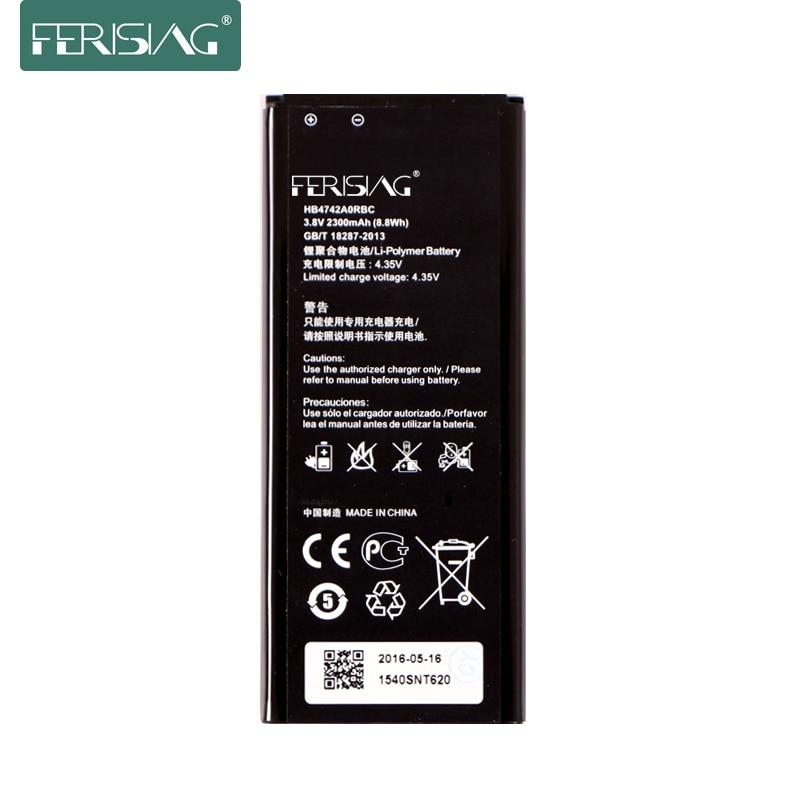 Ferising 0 цикла 2300 мАч HB4742A0RBC Батарея для huawei Honor 3C Замена смартфон батареи мобильного телефона