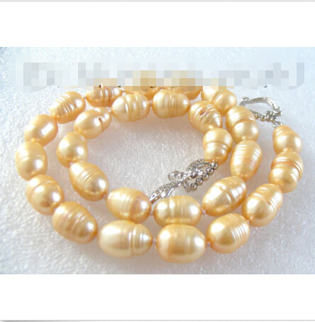 CLASSIC BIG 14mm baroque natural pearls necklace b1388 ^^^@^Noble style Natural Fine jewe SHIPPING image
