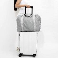 Купить с кэшбэком New Oxford Folding Travel Bag Travel Bags Large Capacity Bag Unisex Luggage Packing Cubes Organizer Waterproof Travel Handbags